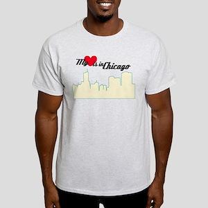 Heart in Chicago Light T-Shirt