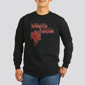 Preach Long Sleeve Dark T-Shirt