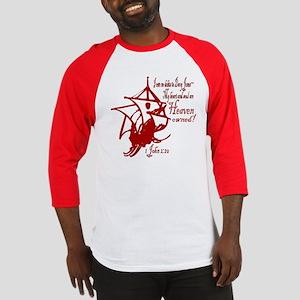 Davy Jones and Flying Dutchman Baseball Jersey