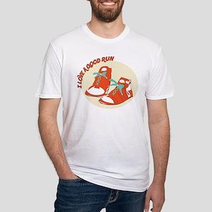 Love Good Run Fitted T-Shirt