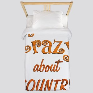 Crazy About Country Twin Duvet