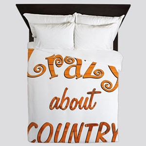 Crazy About Country Queen Duvet