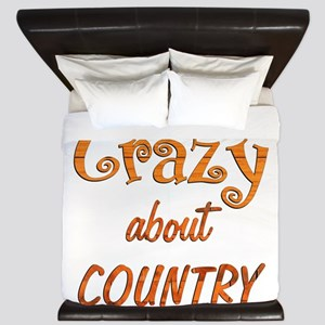 Crazy About Country King Duvet
