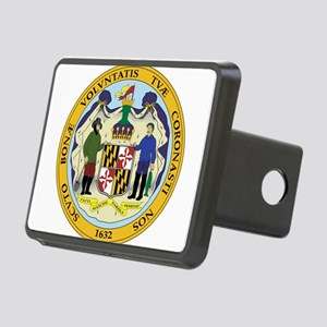 Great Seal of Maryland Rectangular Hitch Cover