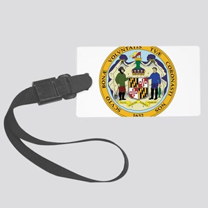 Great Seal of Maryland Large Luggage Tag