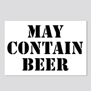 May Contain Beer Postcards (Package of 8)
