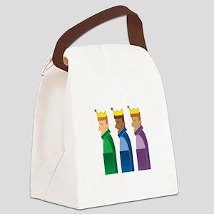 Los Reyes Magos Canvas Lunch Bag