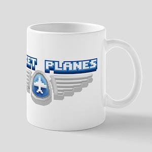 Pocket Planes Badge Mug