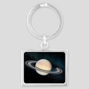 Saturn, artwork - Landscape Keychain