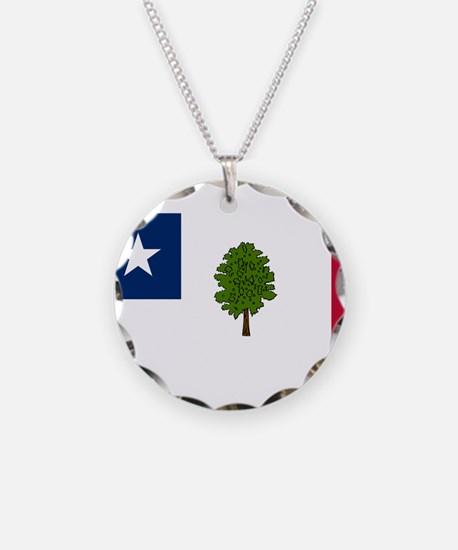 Flag of Mississippi 1861–1865 Necklace