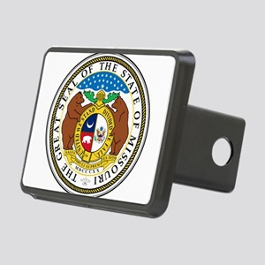 Great Seal of Missouri Rectangular Hitch Cover