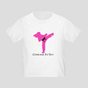 Martial Artist Toddler T-Shirt