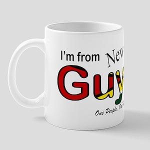 New Amsterdam Guyana Mug