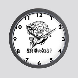 Get Hooked Wall Clock