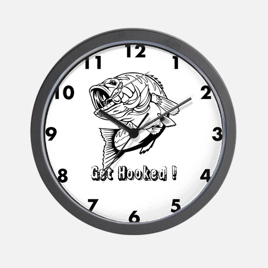 Get Hooked Wall Clock