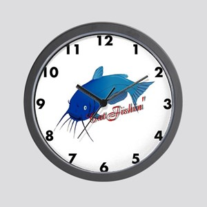 Catfishing clock Wall Clock