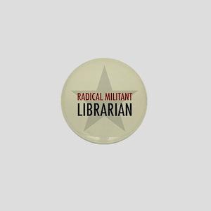 Radical Librarian Mini Button