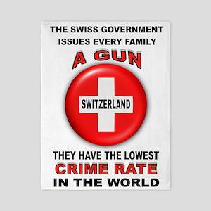 GUN FACTS Twin Duvet