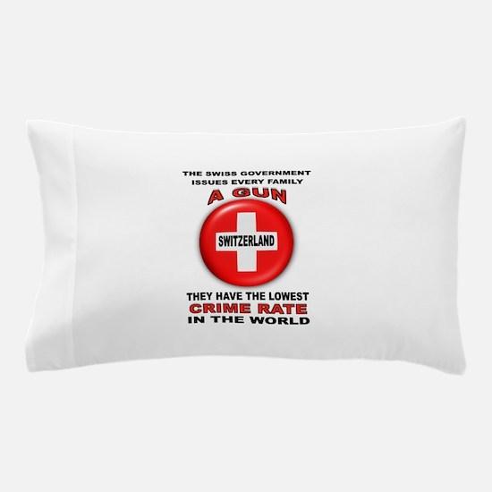 GUN FACTS Pillow Case