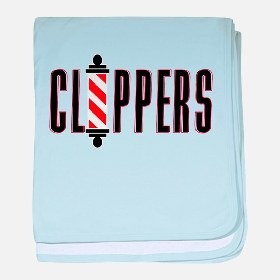 The Clippers baby blanket