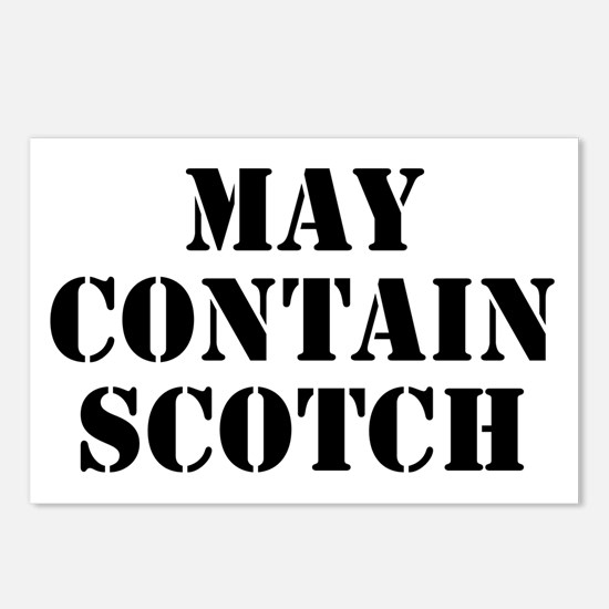 May Contain Scotch Postcards (Package of 8)