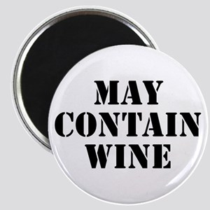 May Contain Wine Magnet