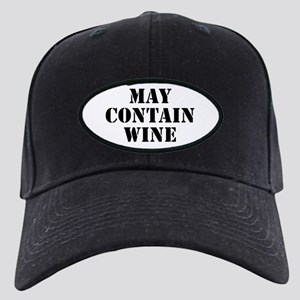 May Contain Wine Black Cap