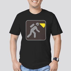 Caving Spelunking Potholing Men's Fitted T-Shirt (