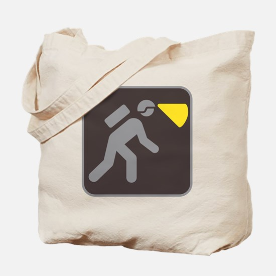 Caving Spelunking Potholing Tote Bag