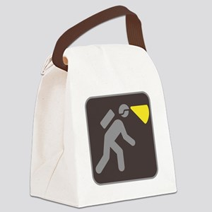 Caving Spelunking Potholing Canvas Lunch Bag