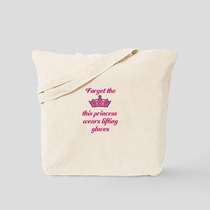 Pink Tiara Tote Bag