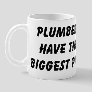 Plumbers have the biggest pip Mug