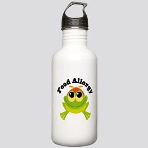 Food Allergy Frog Stainless Water Bottle 1.0L