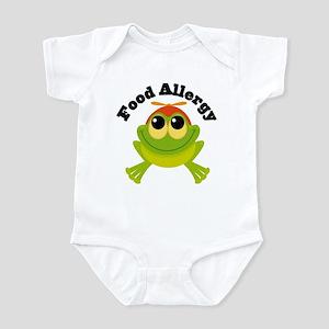 Food Allergy Frog Infant Bodysuit