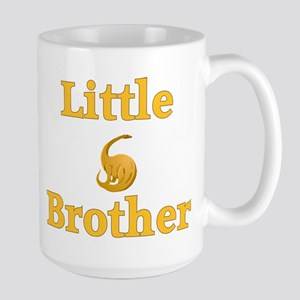 Little Brother Yellow Dinosaur Large Mug