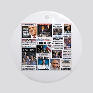 Obama Inauguration Ornament (Round)