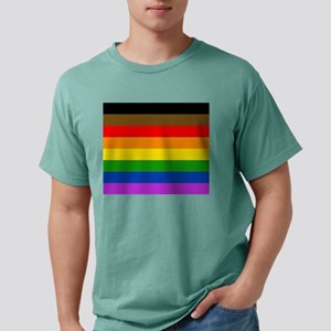 Philadelphia pride flag Mens Comfort Colors Shirt