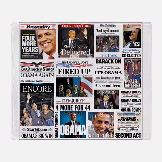 Obama Inauguration Throw Blanket