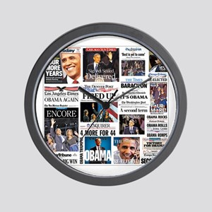 Obama Inauguration Wall Clock