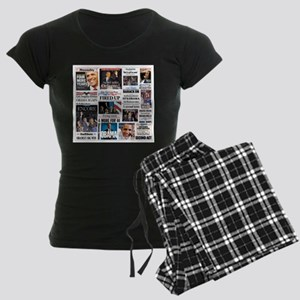 Obama Inauguration Women's Dark Pajamas