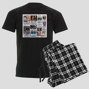 Obama Inauguration Men's Dark Pajamas