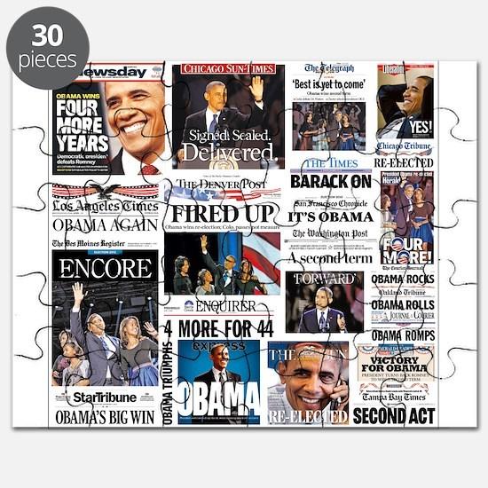 Obama Inauguration Puzzle
