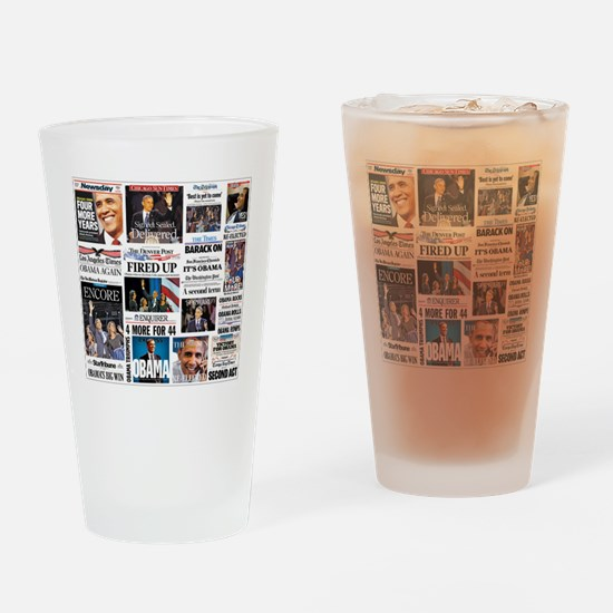 Obama Inauguration Drinking Glass