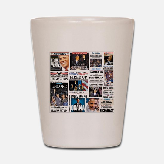 Obama Inauguration Shot Glass