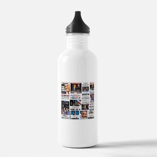 Obama Inauguration Water Bottle