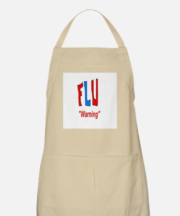 Flu Warning Apron