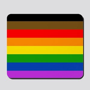 Philadelphia pride flag Mousepad