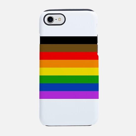Philadelphia pride flag iPhone 7 Tough Case