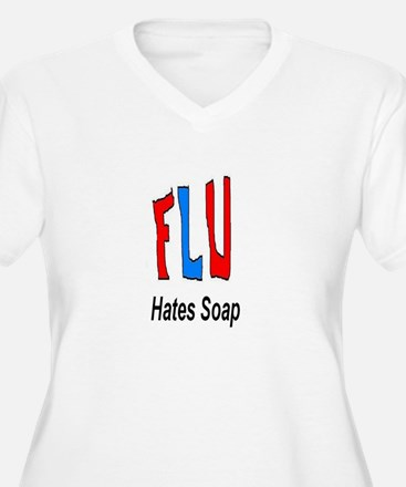 Flu Hates Soap T-Shirt