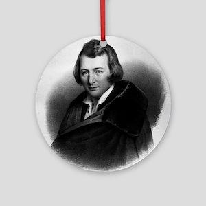 Out Of My Own Great Woe - Heinrich Heine Round Orn